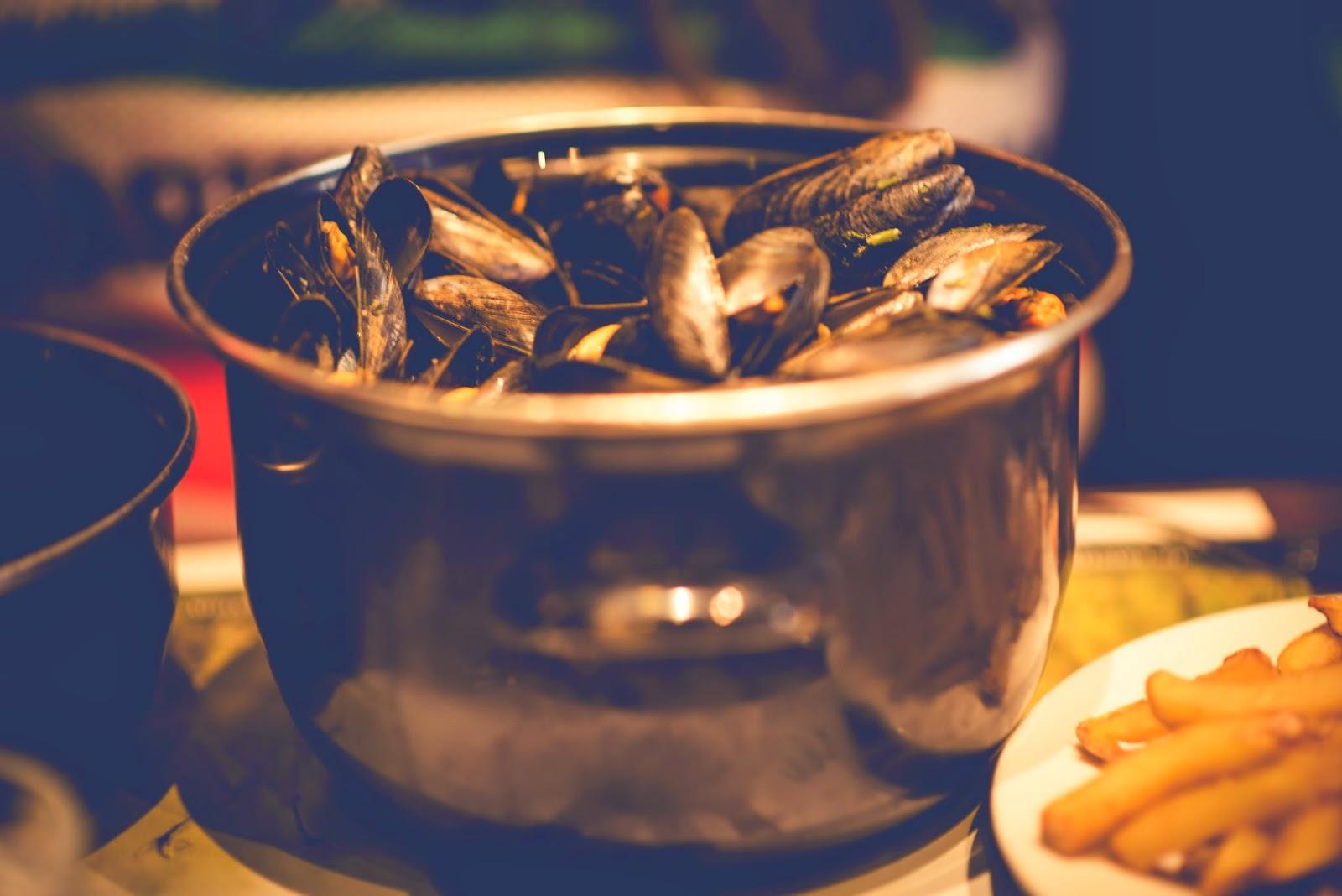 lyon france liquidgrain liquid grain mussels fish seafood sea food