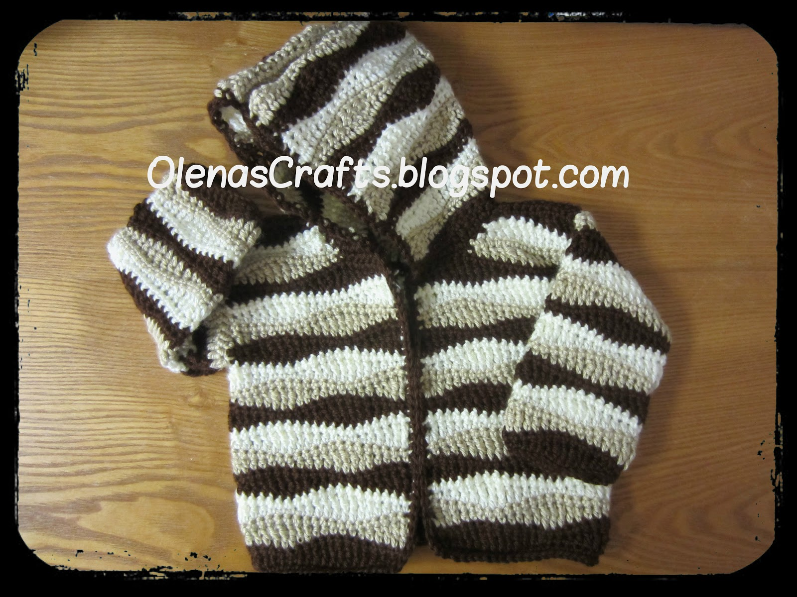 Olenas Crafts: Free Crochet Pattern! Wavy Child Hooded ...