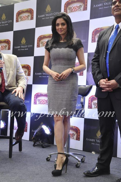 Sridevi at Aamby Valley launch event