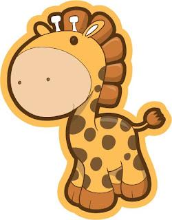dibujos de jirafas para imprimir - Imagenes y dibujos para imprimir