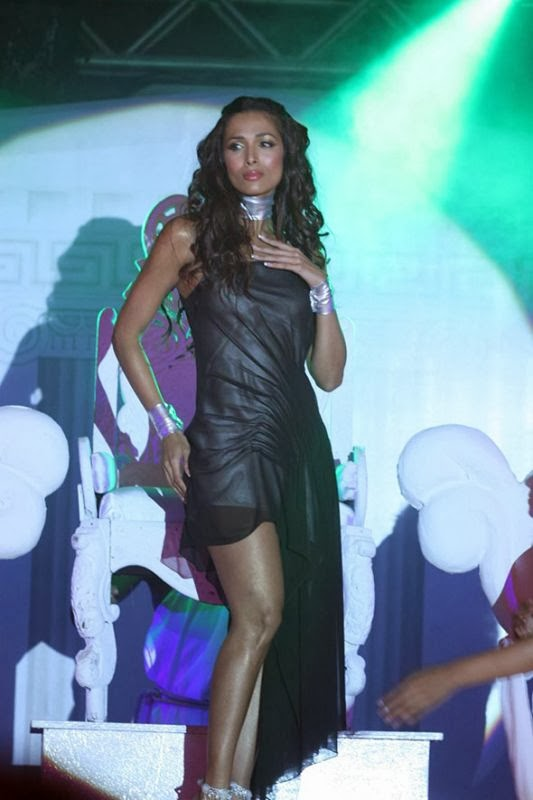 Malaika Arora Khan in transparent blackmini skirt showing her shorts inside her skirt malfunction hd photos 2014