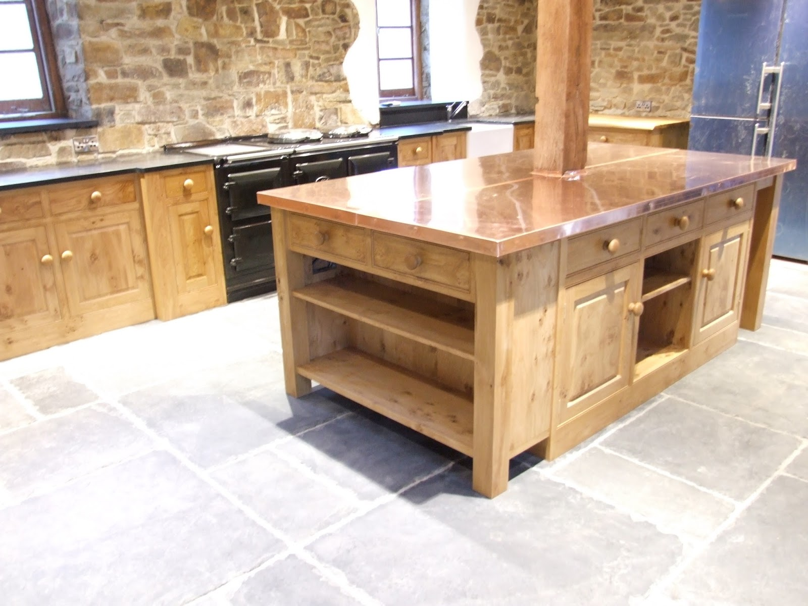 Country Kitchens Devon Gallery Copper Worktop