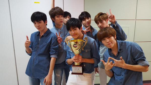 infinite bad second win mbc show champion