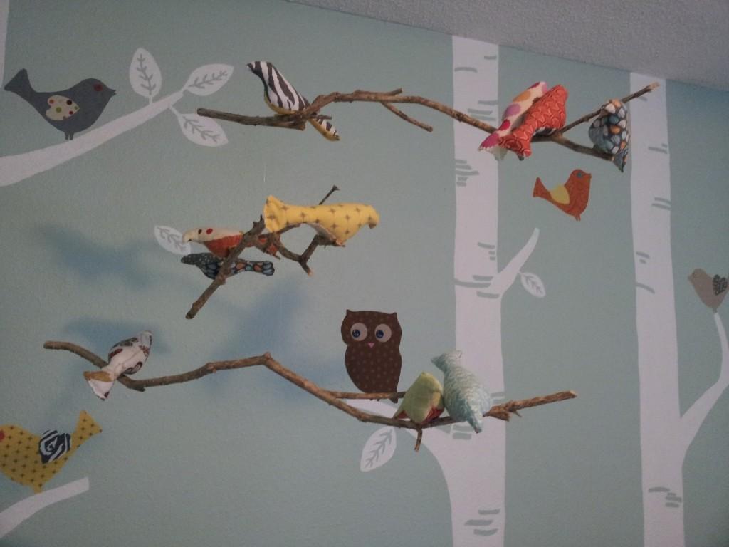 Bird Mobile Nursery