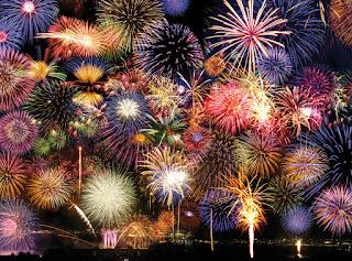 Gambar Kembang Api Tahun Baru Fireworks Happy New Year Wallpaper HD