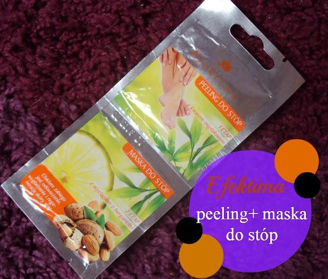 Efektima, Peeling + maska do stóp