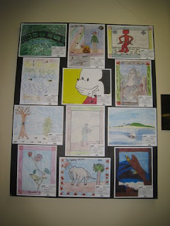 Morris County Youth Art Month 2011 - Stonybrook Artwork
