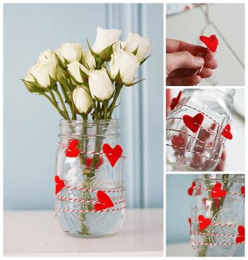 Sevgiliye el yapımı sevgililer günü hediyesi