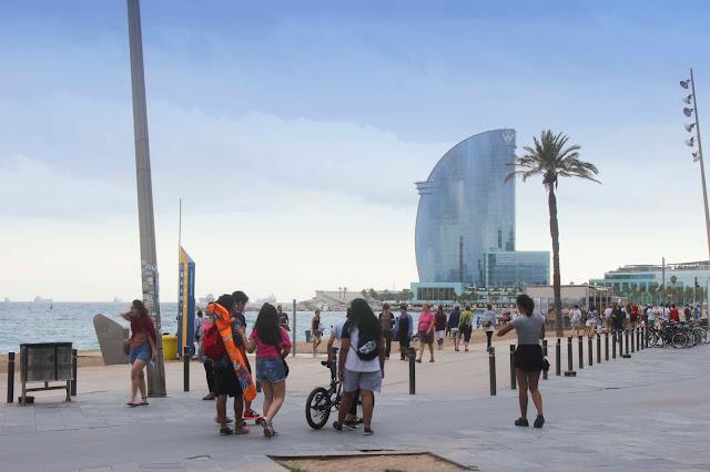 Beach | Barcelona | Chichi Mary Blog