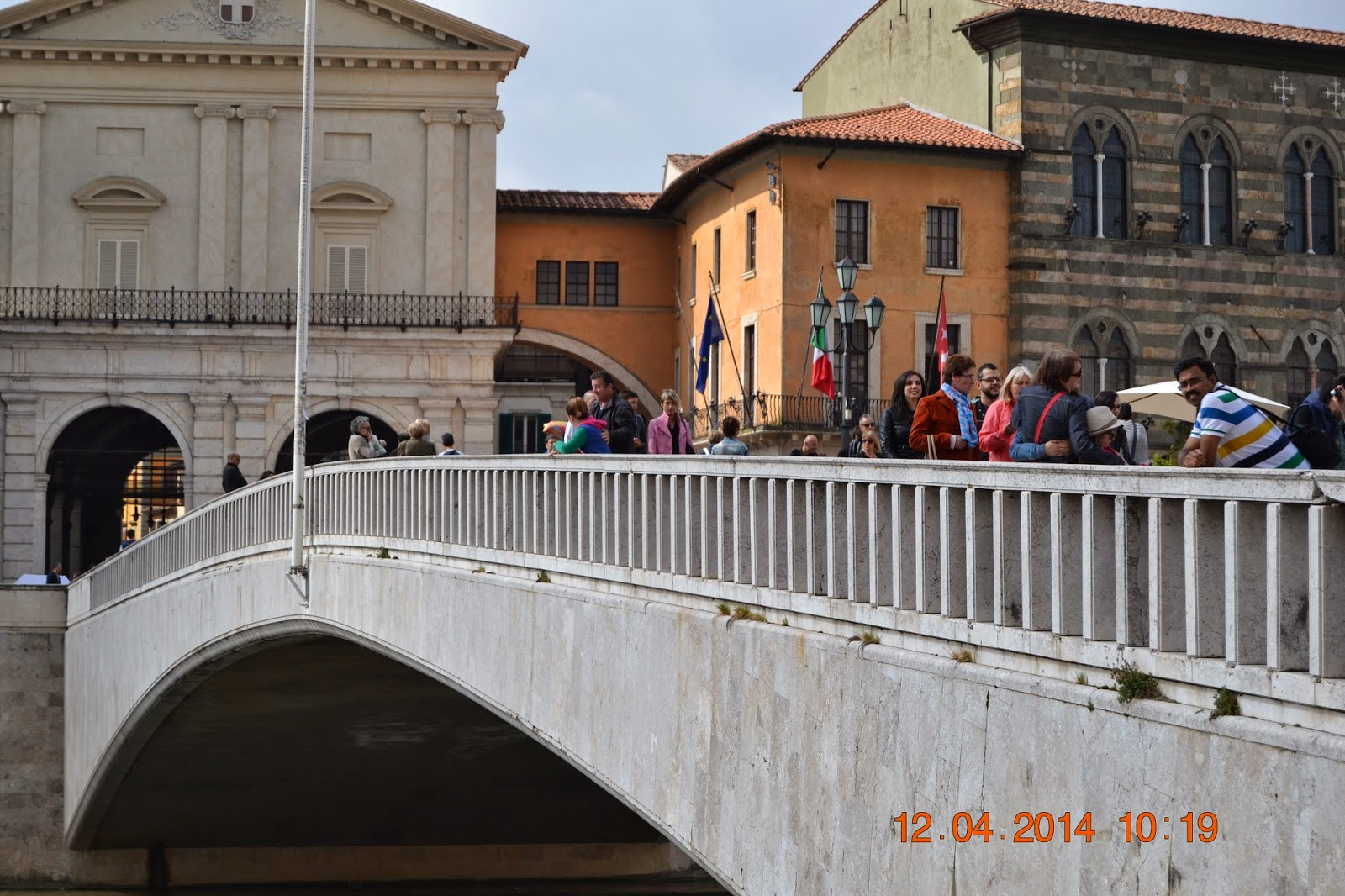Ponte Di Mezzo @ Pisa