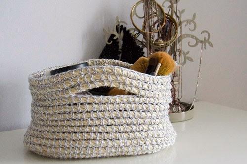Version du Custom Rope Basket d'Esther Chandler par lafeemoimeme