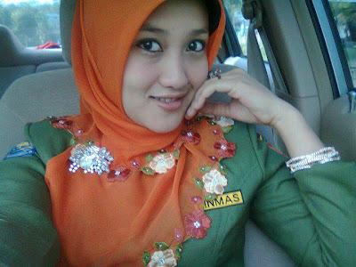 baju muslimah murah PNS cantik