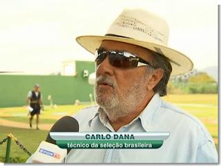 Carlo Danna - técnico da seleção brasileira de Tiro ao Prato Olímpico