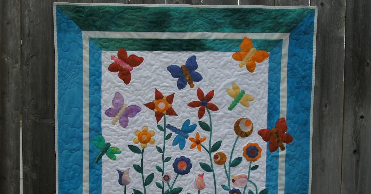 Sunshower Quilts Go! Butterfly Garden # Sunshower Goes_064641