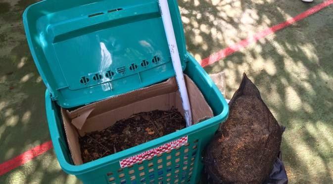 metode pengolahan sampah organik rumah Tangga