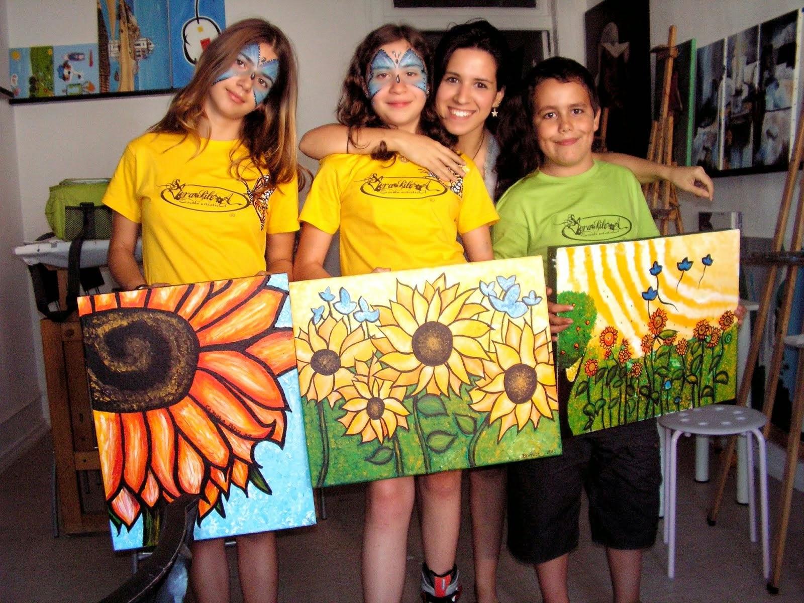 Aulas para crianças e jovens