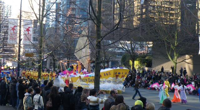 Santa Claus Parade, Vancouver, 2011, FALUN DAFA Organization