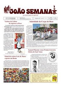 Edição de 1 de junho de 2016
