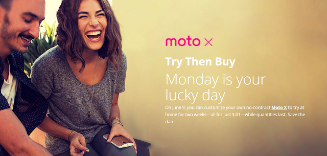 Motorola Moto X Try Then Buy