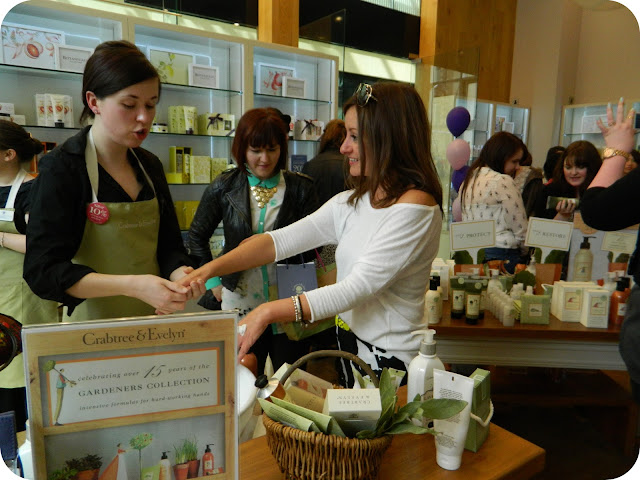 free hand treatment at crabtree & evelyn cardiff