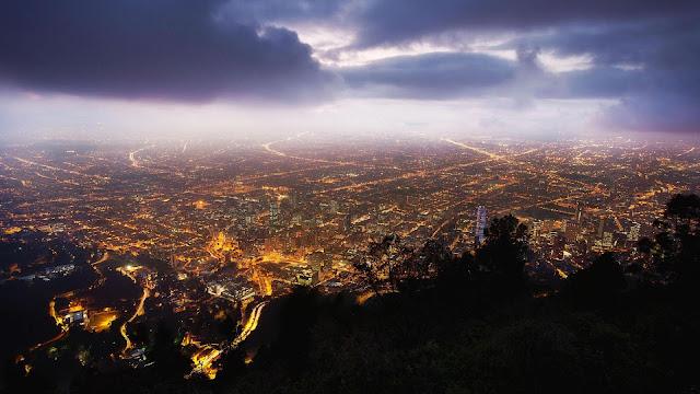 Bogota Night View