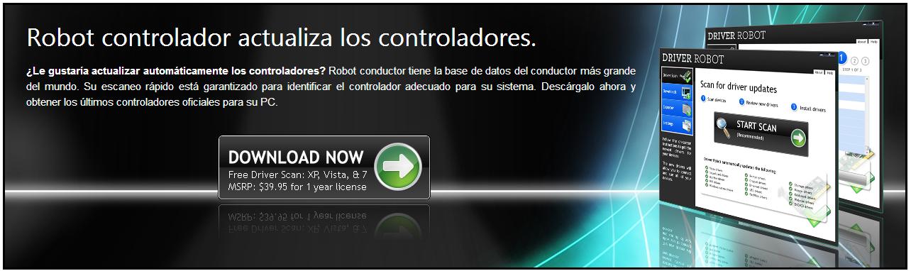 DRIVER ROBOT actualiza los controladores de tu PC