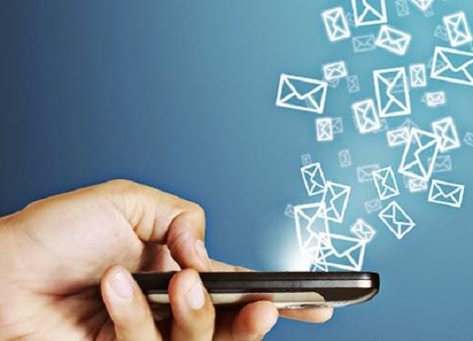 SMS,BBM, WA idul Fitri 2014 - ilustrasi