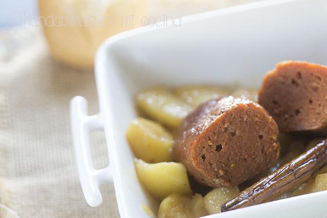 Butifarras dulces con manzanas. Las mejores recetas de mi madre de Joan Roca