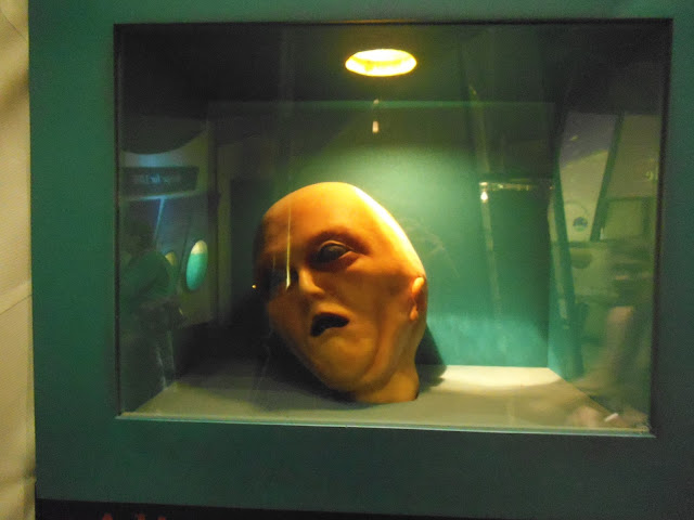 rothwell alien autopsy head hoax at leicester space centre via lovebirds vintage