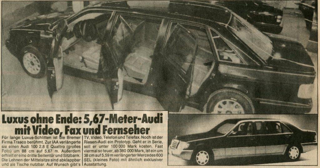 Trasco-forever: Audi 100 2,8 E Quattro