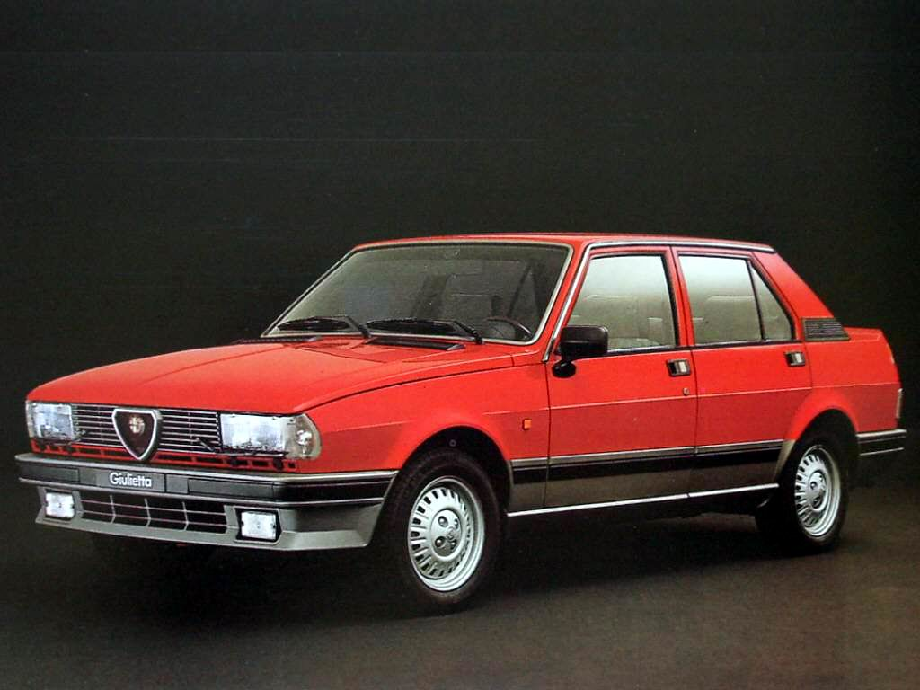 automotive database alfa romeo giulietta 1977. Black Bedroom Furniture Sets. Home Design Ideas