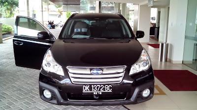 Subaru Outback Memang Langka di Bali