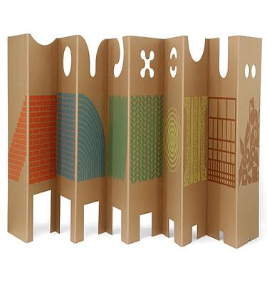 Kids room divider
