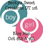 Becky&#39;s Sweet Creations 1st DT Blog Hop