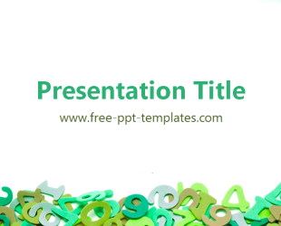 math ppt template  free powerpoint templates, Powerpoint