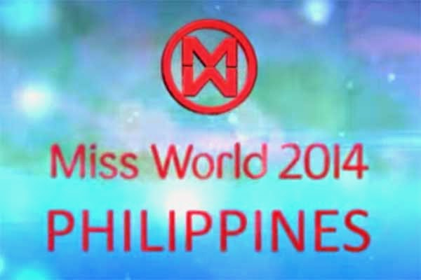 Miss World Philippines 2014 logo