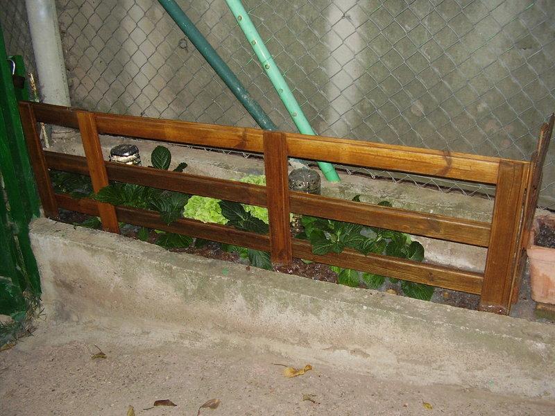 Crea y decora en madera decorativas vallas para adornar - Vallas decorativas para jardin ...
