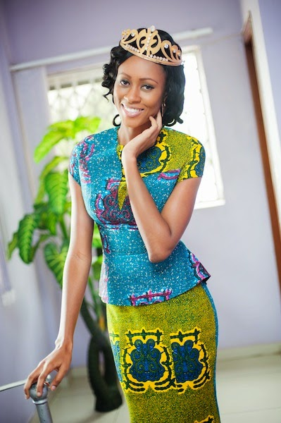 Miss World Ghana 2014 Nadia Ntanu