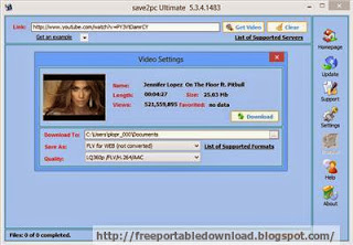 save2pc YouTube Downloader to downloads videos from Youtube or Google Video