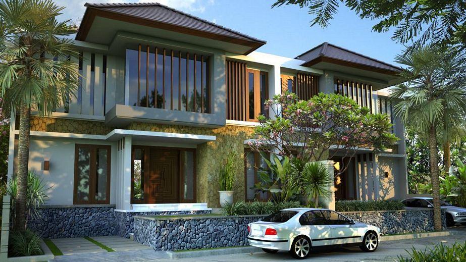 bentuk rumah minimalis type 130 idaman