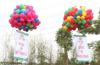 Balon Pelepasan ISPI di Bekasi