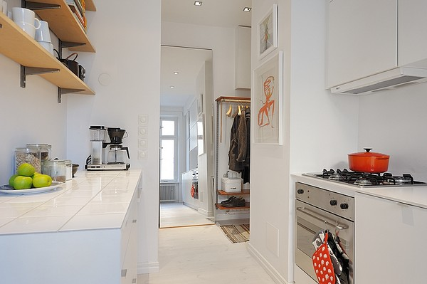These Apartment Use White Colors Thats Why Look Attractive Here Are Some Collection Of One Room Interior Design Have