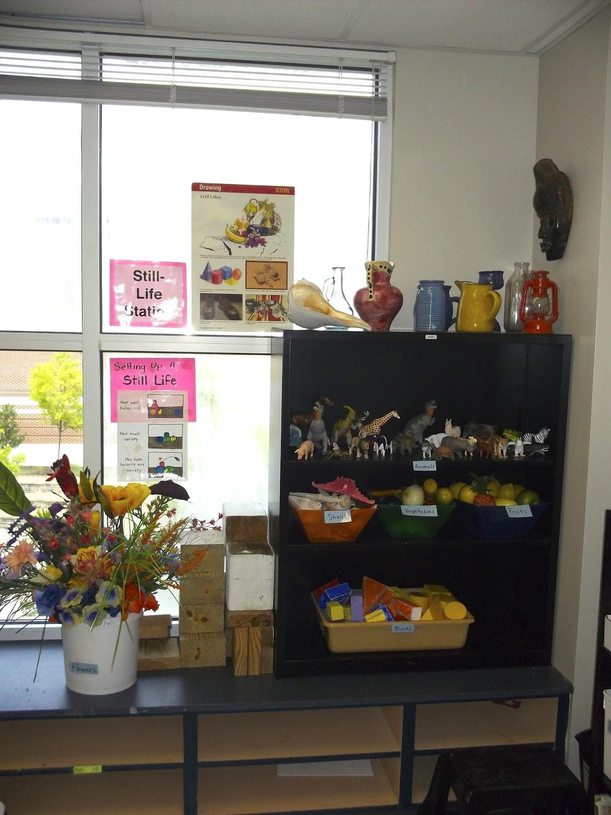 Minimalist Classroom Elementary : The awakened artist a choice based art classroom