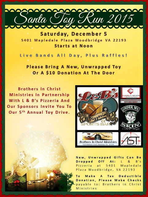 Santa Toy Run, Toy Drive For Woodbridge Kids