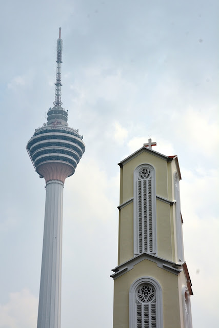 St. Johns cathedral KL TV tower