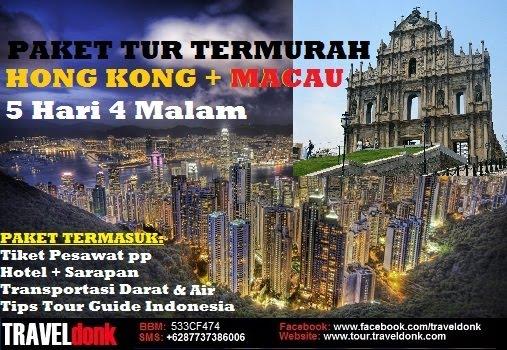 Paket Tur ke Hongkong & Macau