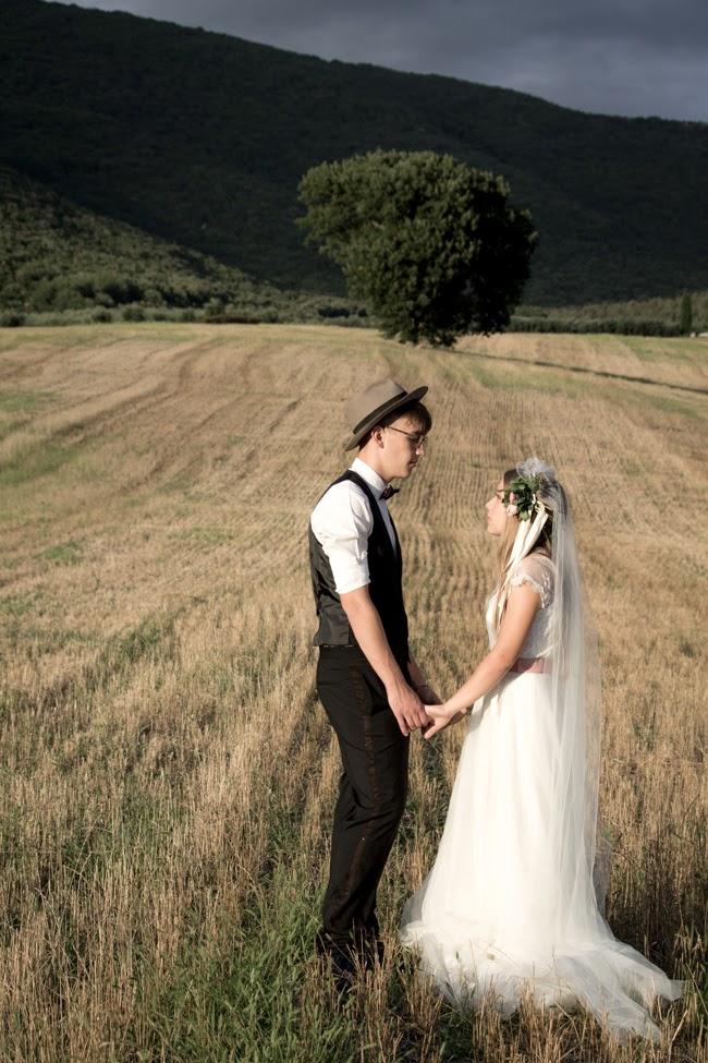 wedding in the italian countryside
