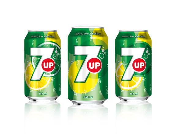 7Up Ganti Kulit - Rebrand Branding