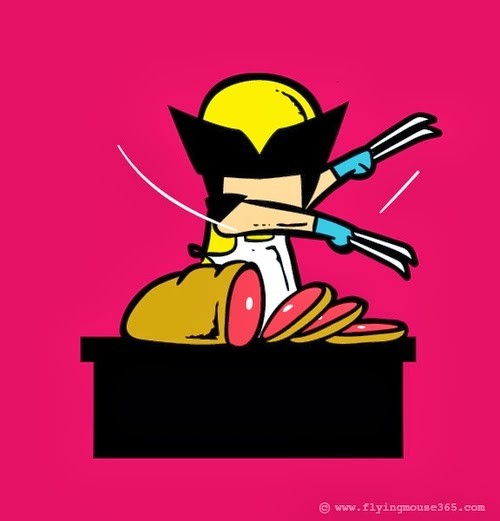 01-Wolverine-The-Butcher-Illustrator-Chow-Hon-Lam-Superheroes-Part-Time Jobs-www-designstack-co