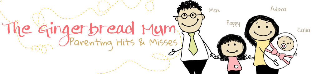 Gingerbreadmum: Singapore Mum Blogger